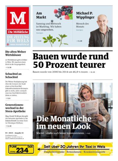 Die Monatliche – Ausgabe 44