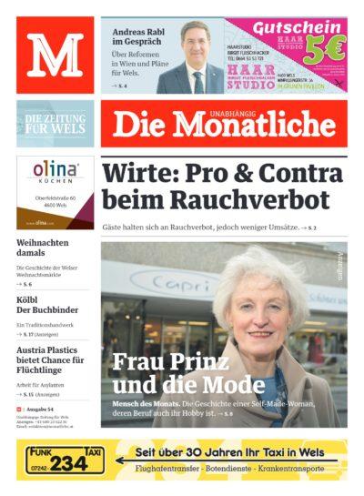 Die Monatliche – Ausgabe 54